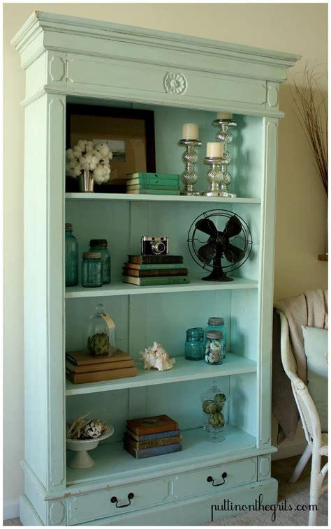 Cute Aqua Book Case  Home Fry  Pinterest Shelves