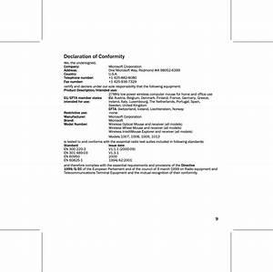 Microsoft 1008 Wireless Optical Mouse 2 0 User Manual Ret