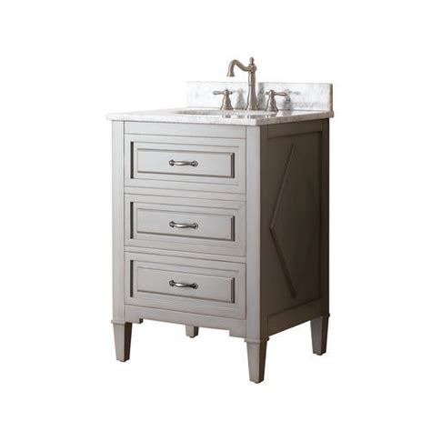 Menards Bathroom Vanity Combo by Avanity 24 In Vanity Combo In Grayish Blue Finish