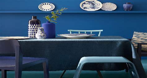 peinture bleu  nuances pour les murs avec  greene