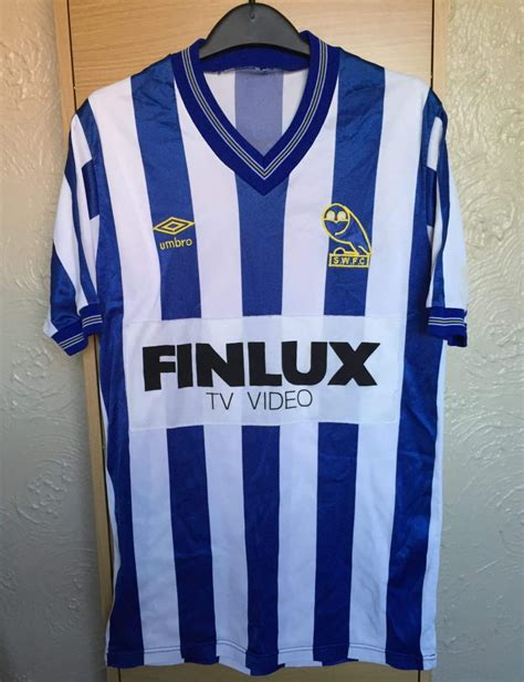 Sheffield Wednesday Home football shirt 1985 - 1986 ...