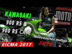 Salon Moto Milan 2017 : kawasaki z900rs et kawasaki z900rs caf 2018 salon moto milan eicma 2017 youtube ~ Medecine-chirurgie-esthetiques.com Avis de Voitures