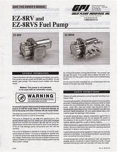 Gpi Great Plains Industries Fuel Pump With Switch Ez