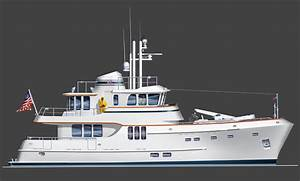 Dining Space Design Expedition Luxury Trawler Yachts