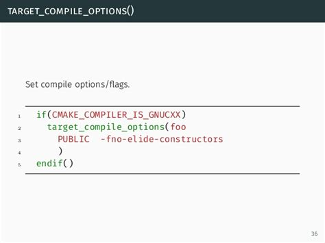 Cxx Variadic Templates by Cmake Introduction And Best Practices