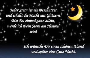 Schöne Gute Nacht Sprüche : sch ne guten abend spr che directdrukken ~ Udekor.club Haus und Dekorationen