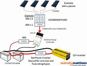 Solar Panel Wiring Circuits