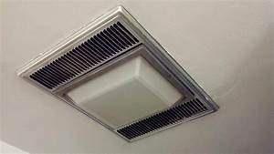 Bathroom ceiling light fan comboheater and for
