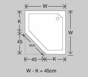 Fünfeck Berechnen : duschkabinen planung und richtiges messen ~ Themetempest.com Abrechnung