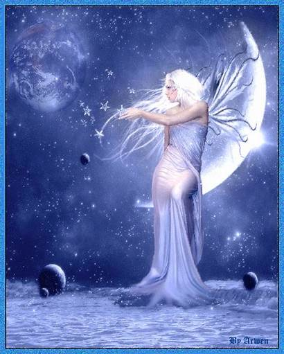 Fairy Moon Goddess Fairies Fantasy Awen Ocean
