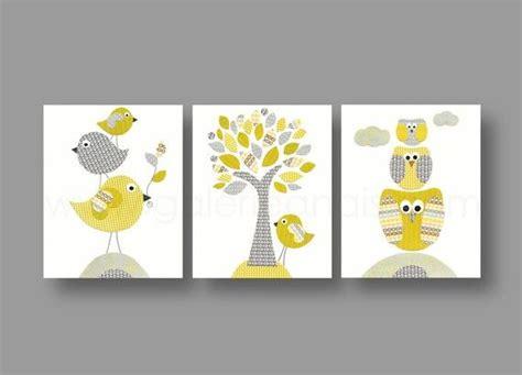 dessin pour chambre bébé lot de 3 illustrations pour chambre d 39 enfant et bebe gris