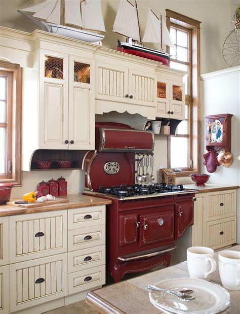 et decoration cuisine armoires de cuisine chêtre en merisier québec simard