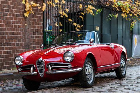 Just Listed 1962 Alfa Romeo Giulietta Spider Veloce