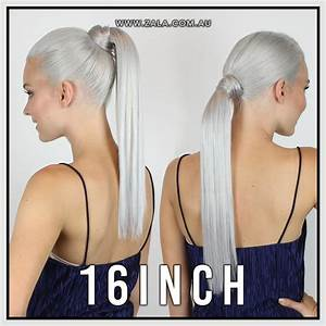 Ponytail Extension Length Guide