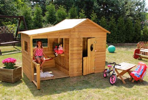 Baumotte Spielhaus Holz Spielhaus Garten Kinderspielhaus