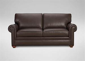 conor leather sofa sofas loveseats With letter furniture