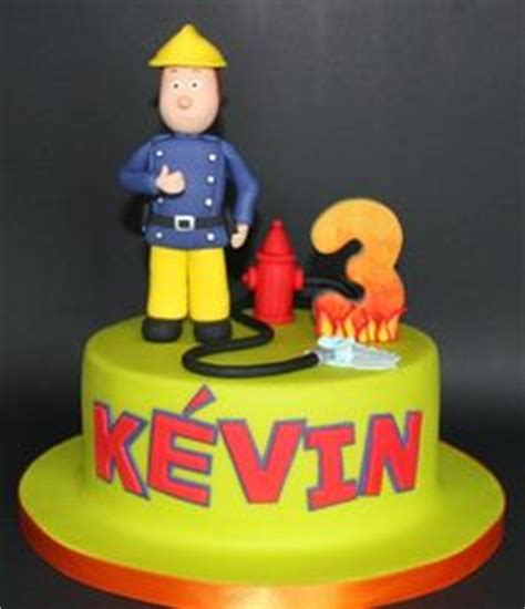 fireman sam cake  pinterest fire engine cake postman
