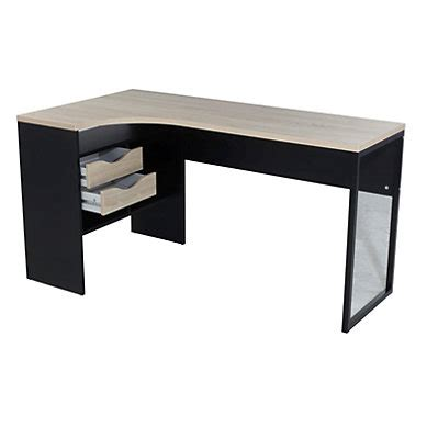 plateau de bureau en verre meuble bureau et ordinateur pas cher but fr