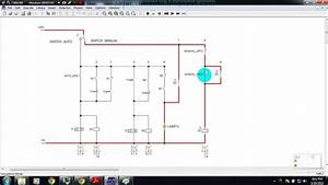 Simulasi Rangkaian Kontrol On Dan Off Lampu Automatis
