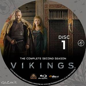 Vikings Season 2 Dvd Cover poster