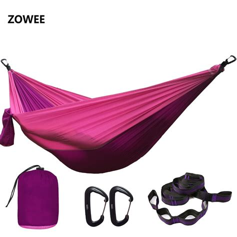 Two Person Hammock Cing by Dropshipping Parachute Cing Hammock Outdoor Garden