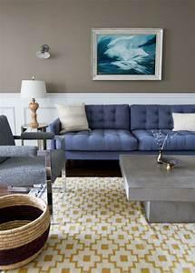 la couleur taupe des idees deco pour votre interieur With tapis exterieur avec gifi canape gris