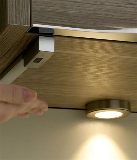 sensor operated dimmer for led lights