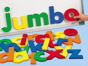jumbo 5quot magnetic letters lowercase at lakeshore With lakeshore magnetic letters