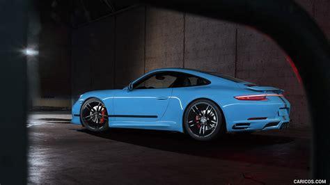 2018 Techart Porsche 911 Carrera 4s Side Hd Wallpaper
