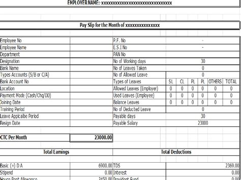 Therefore, within this article, we will analyze the different sections of a typical salary slip and their significance. 10+ Payslip Templates - Word Excel PDF Formats
