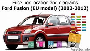 Fuse Box Location And Diagrams  Ford Fusion  Eu Model