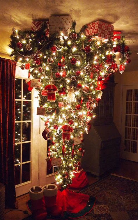 upside down christmas trees 1000 images about trees on
