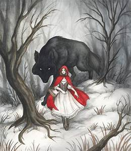 Little Red Riding Hood by Evanira on DeviantArt