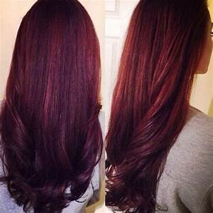 Pin Violet Red Hair Color Pictures on Pinterest