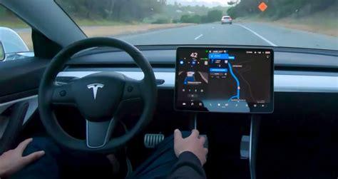 Tesla Autopilot 2019 by Tesla D 233 Voile Une Nouvelle Vid 233 O Impressionnante De