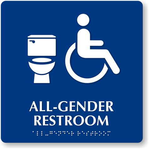 gender inclusive bathroom sign a basic human need a summary of bathrooms more