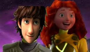 Sharkboy and Lava girl - Hiccup and Merida by Sweet-racer ...