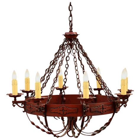 Period Chandeliers by 1930s Large Monterey Period Chandelier At 1stdibs