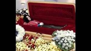MICHAEL JACKSON Open Casket Funeral Video 2009 - YouTube