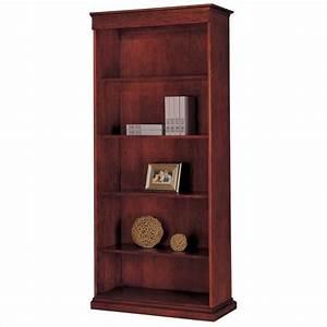 Flexsteel Del Mar RHF 5 Shelf Wood Bookcase In Sedona