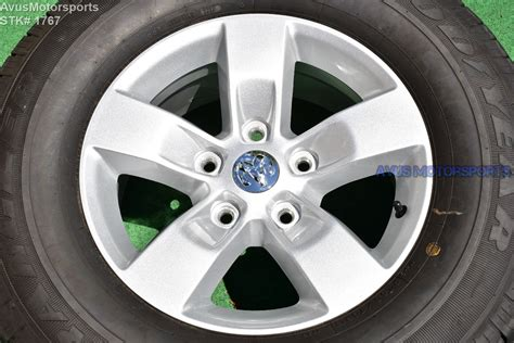 dodge ram sport oem factory polished wheels tires hemi