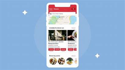 Opentable App Last Diner Dynamic Redesign Caters