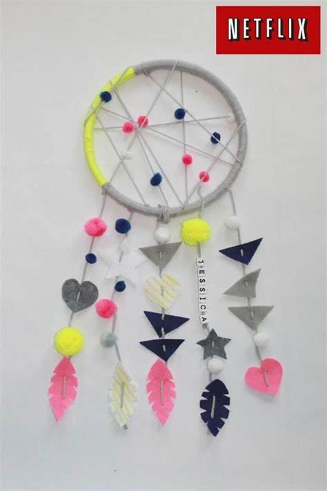 dreamcatcher craft  kids netflixkids kids fun