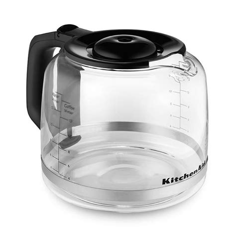 Kitchenaid Dishwasher Handle Replacement by Kitchenaid Kcm14gc 14 Cup Glass Carafe For Kcm1402