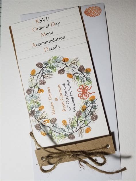 Pin by Ljd Cards on Autumnal wreath wedding collection