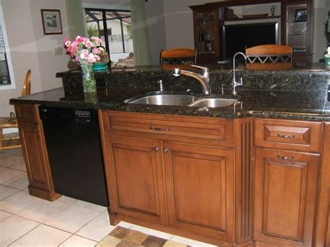 best color with cherry cabinets quartz or granite