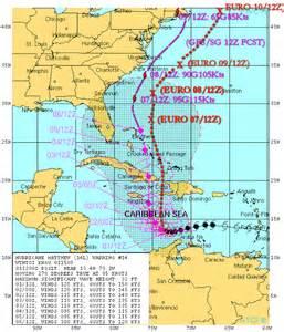 Hurricane Tracking Chart Map