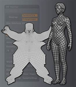 [3ds Max] Pelt mapping entire character in a single UV ...