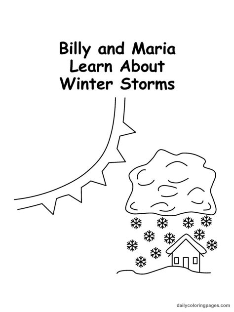 weather coloring pages getcoloringpagescom