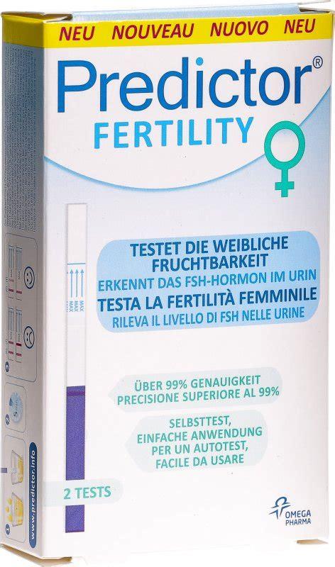 predictor fertility fruchtbarkeitstest frau  stueck  der